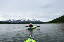 Kayaking Hugh Miller Inlet