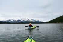 Kayaking Hugh Miller Inlet