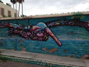 pelican-mural