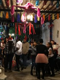 Mexican Christmas Eve party