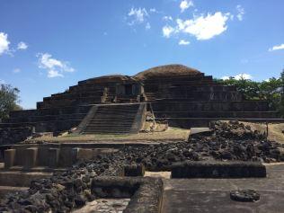 Mayan ruins in Tazumal