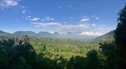 Volcanic overlook