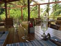 Eco-resort lunch stop