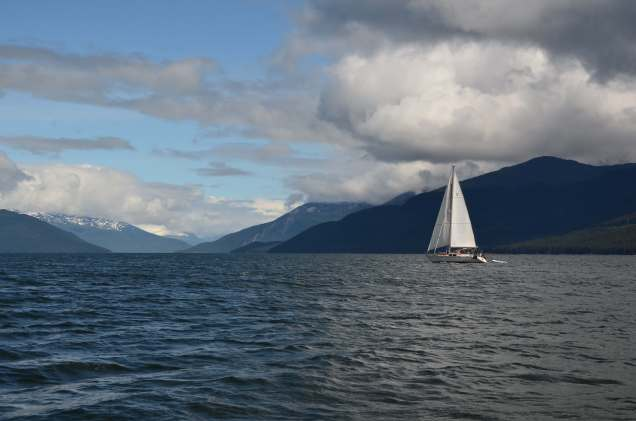 Sailing in AK