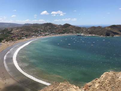 San Juan del Sur anchorage