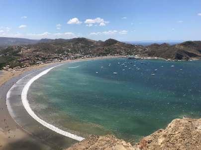 San Juan del Sur anchorage