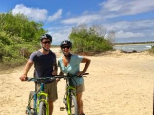 Biking Isabela