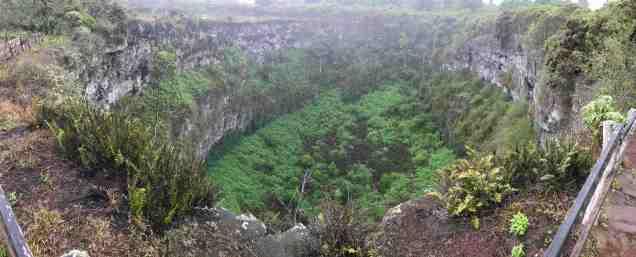 Santa Cruz crater pano