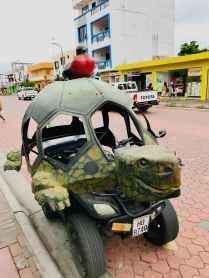 Tortoise car