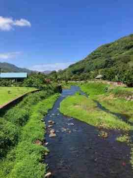 River through Taipivai