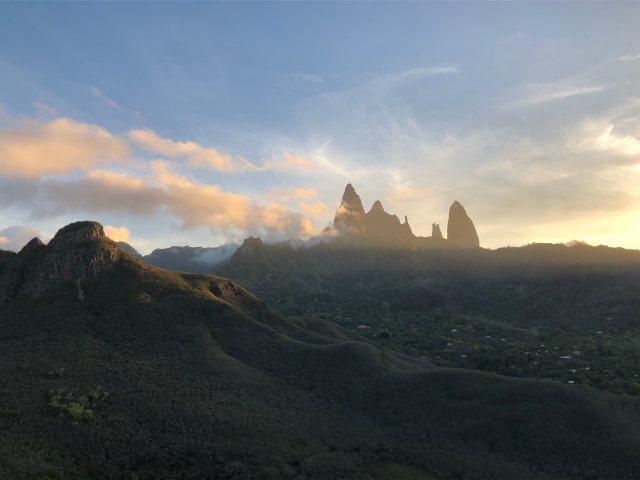 Ua Pou landscape