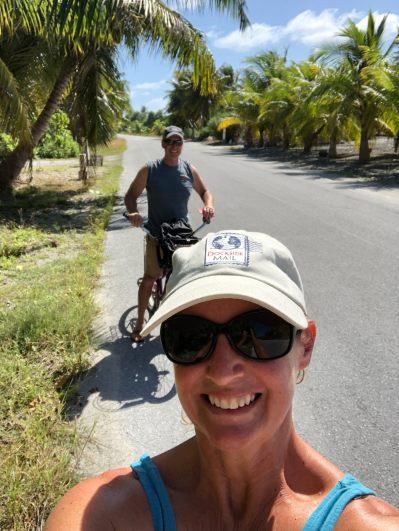 Cycling Fakarava