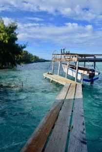 Toau boat dock