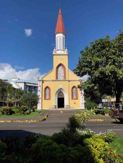 Papeete cathedral