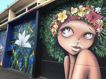 Uturoa street art