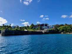 Niue wharf