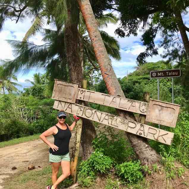 Hiking Mt. Talau