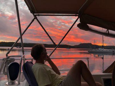 Neiafu sunset
